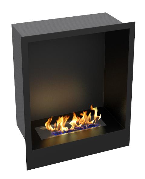 Купить биокамин standart 480 для встраивания в портал zefire за 28500 р. | Интернет-магазин Камин в доме